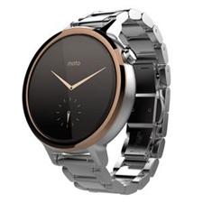 تصویر ساعت هوشمند موتورولا Motorola Watch موتو 360 نسل دوم | بند فلزی 46 میلیمتر