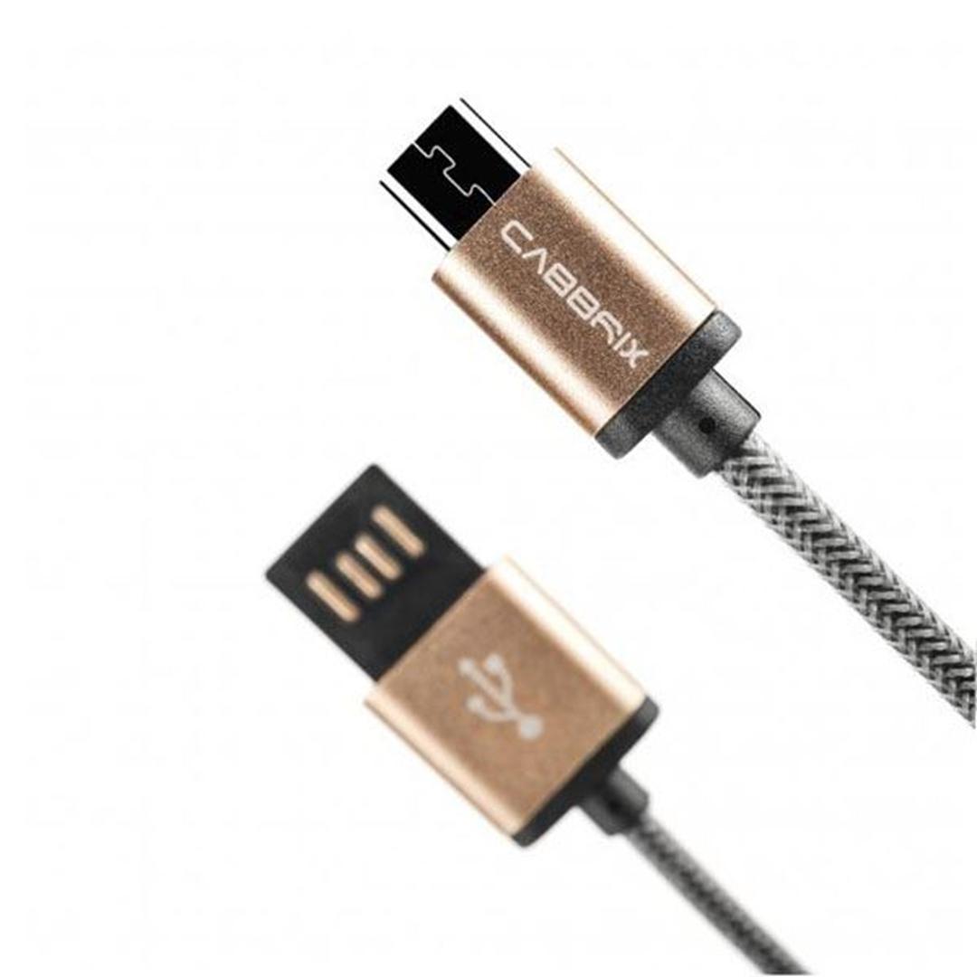 تصویر کابل microUSB کابریکس مدل Aluminium Stecker | یک متر