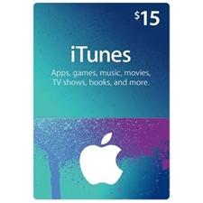 تصویر گیفت کارت اپل آیتیونز | پانزده دلاری