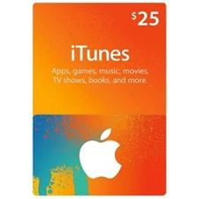 تصویر گیفت کارت اپل آیتیونز | بیست و پنج دلاری