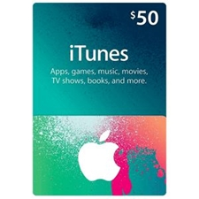 تصویر گیفت کارت اپل آیتیونز | پنجاه دلاری