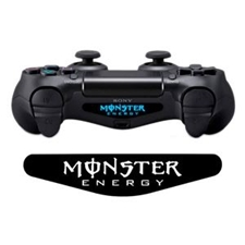 تصویر برچسب دوال شاک 4 ونسونی طرح Monster Energy