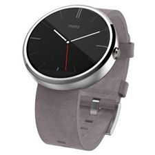 تصویر ساعتهوشمند موتورولا Motorola Watch مدل موتو 360 سنگی | بند 46 میلیمتر