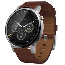 تصویر ساعتهوشمند Motorola Watch موتورولا موتو 360 نسل دوم | بند چرمی 46 میلیمتر