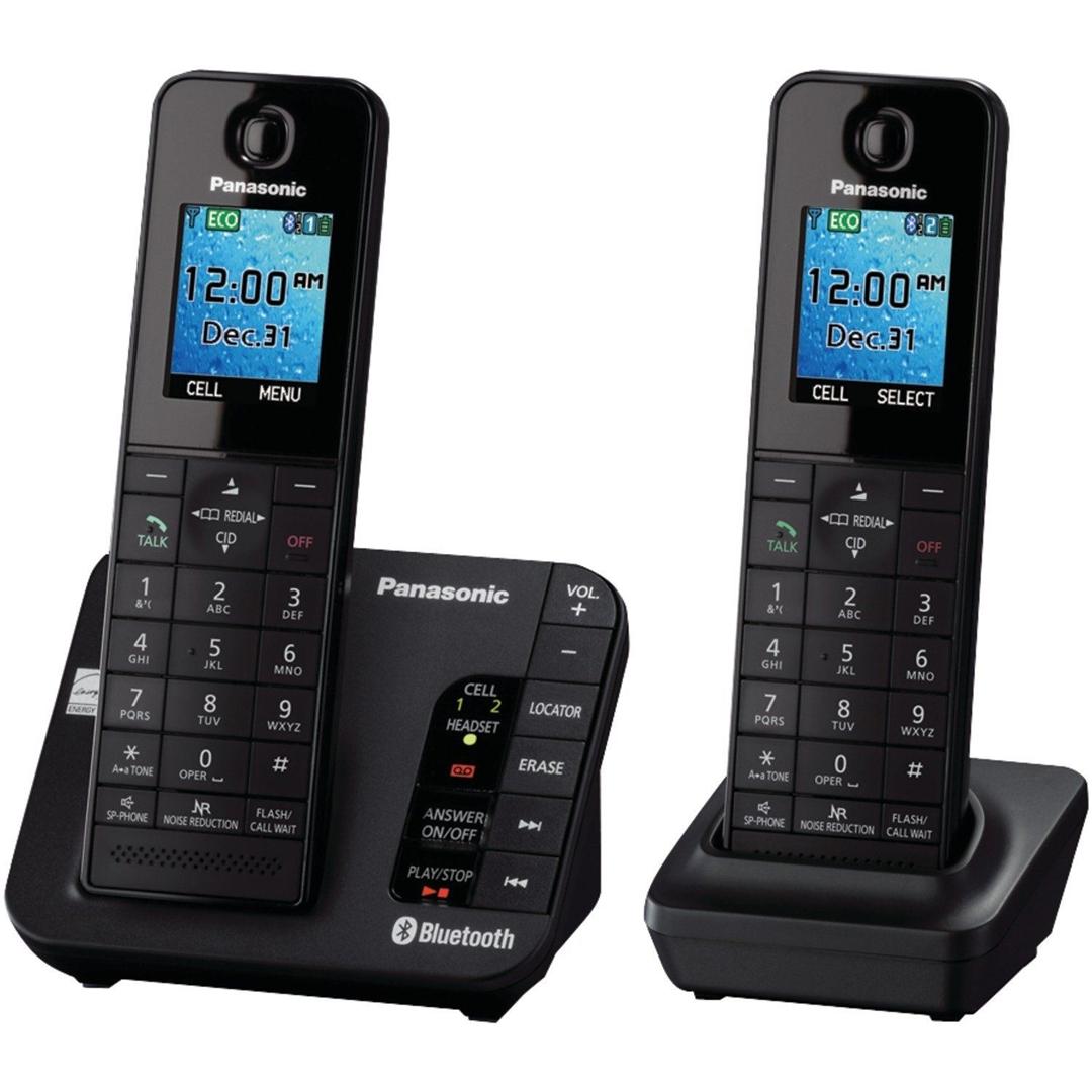 تصویر تلفن بی سیم پاناسونیک مدل KX-TGH262   تکخط، منشیتلفنی