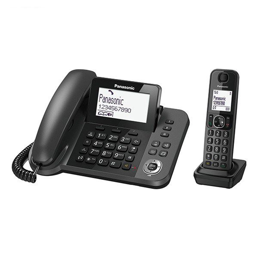 تصویر تلفن بیسیم پاناسونیک مدل KX-TGF310   بیسیم، تکخط