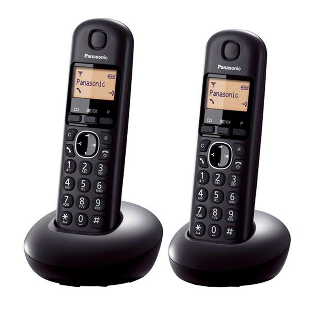 تصویر تلفن بی سیم پاناسونیک مدل KX-TGB212   تکخط