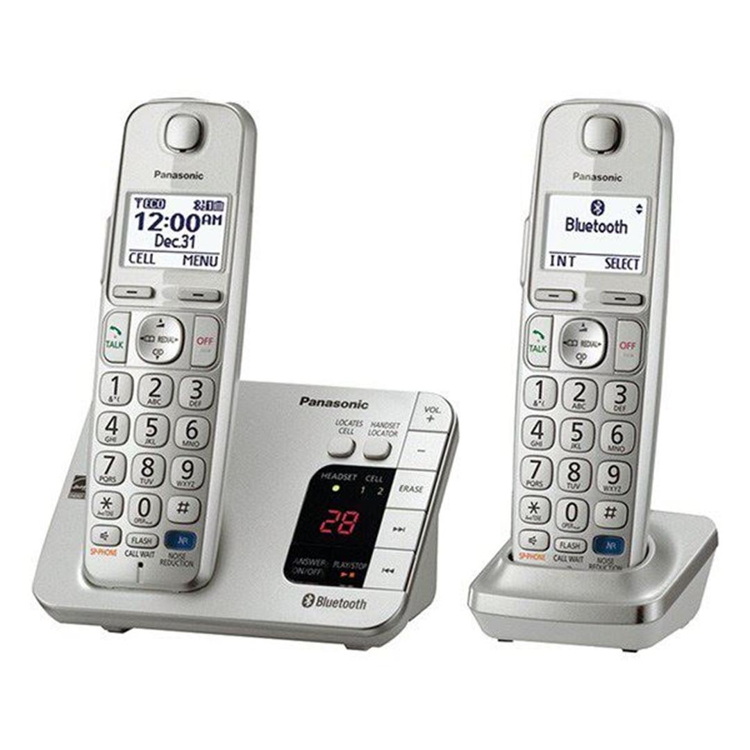 تصویر تلفن بی سیم پاناسونیک مدل KX-TGE262 | تکخط، منشیتلفنی
