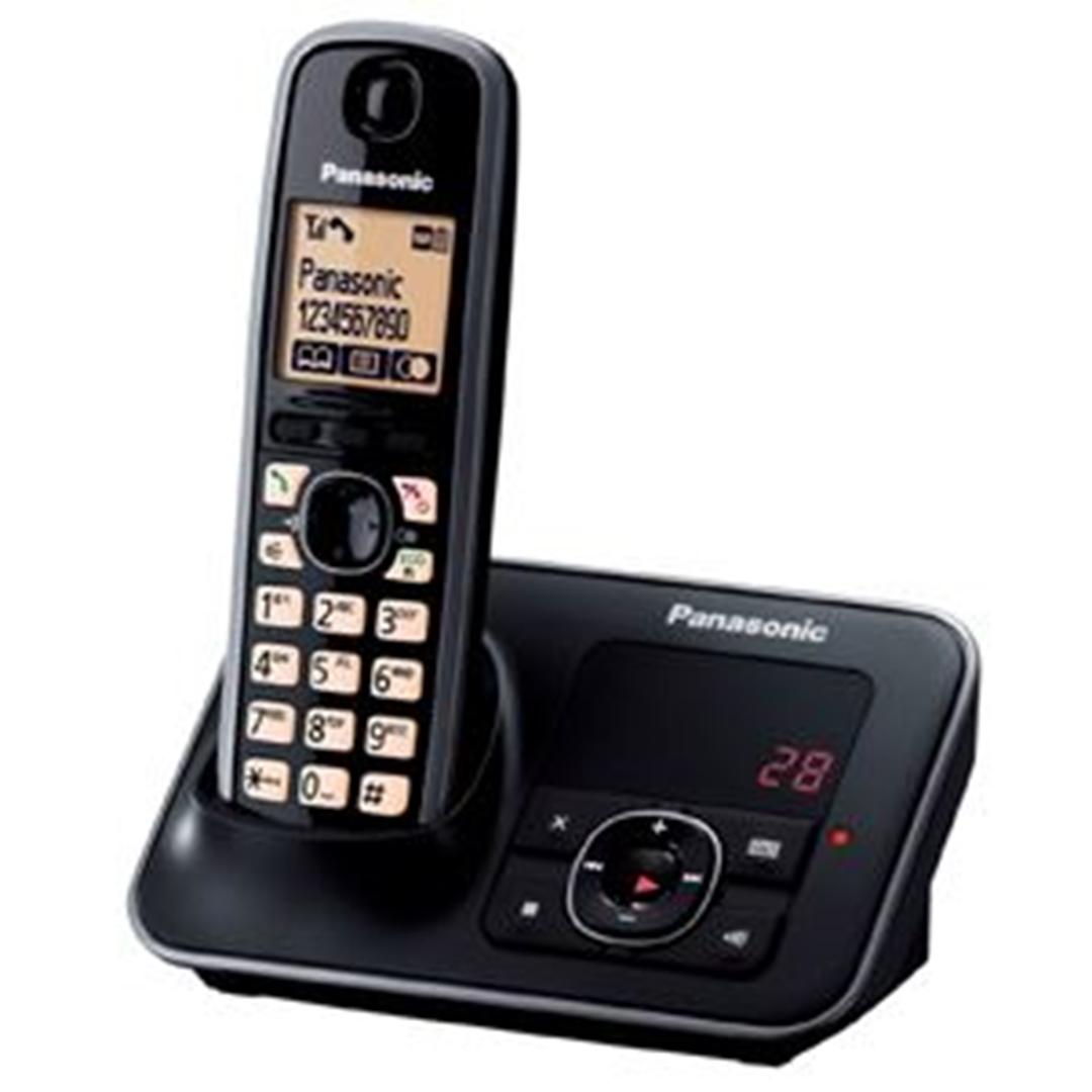 تصویر تلفن بی سیم پاناسونیک مدل KX-TG3721 | تکخط، منشیتلفنی