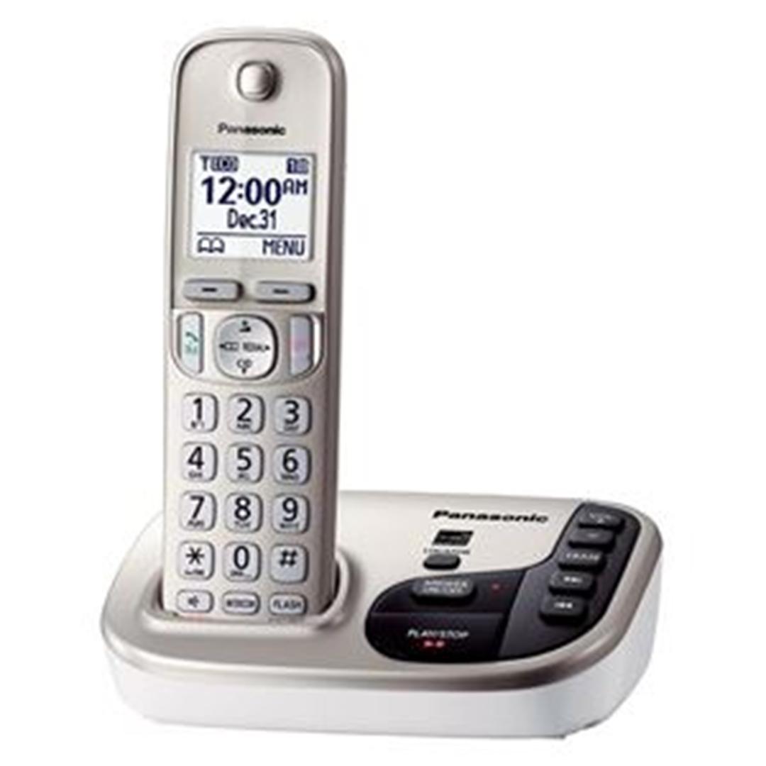 تصویر تلفن بی سیم پاناسونیک مدل KX-TGD220 | تکخط، منشیتلفنی
