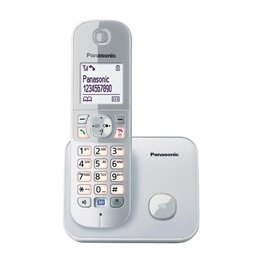 تصویر تلفن بی سیم پاناسونیک مدل KX-TG6811 | تکخط