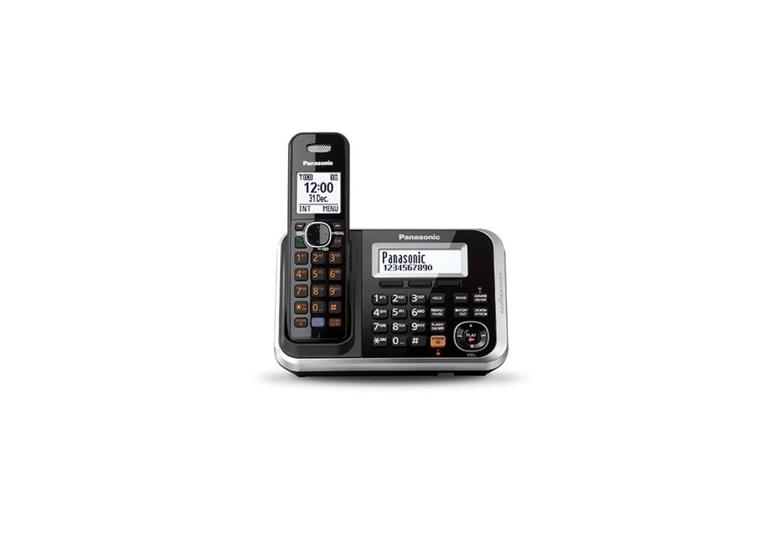 تصویر تلفن بی سیم پاناسونیک مدل KX-TG6841 | تکخط، منشیتلفنی