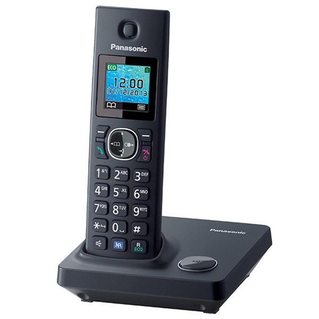 تصویر تلفن بی سیم پاناسونیک مدل KX-TG7851FX   تکخط
