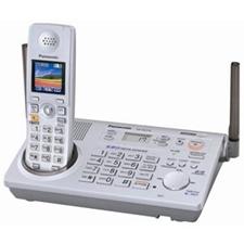 تصویر تلفن بی سیم پاناسونیک مدل KX-TG5776 | بیسیم، تکخط، منشیتلفنی