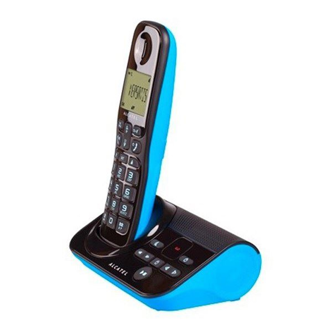 تصویر تلفن آلکاتل مدل Sigma 260 Voice   بیسیم، تکخط، منشیتلفنی