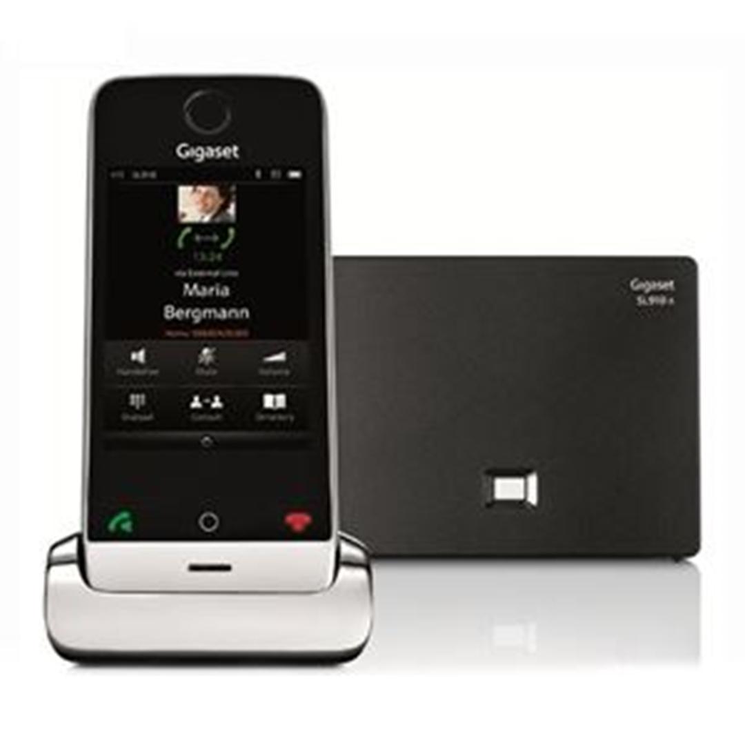 تصویر تلفن گیگاست مدل SL910A | بیسیم، تکخط، منشیتلفنی