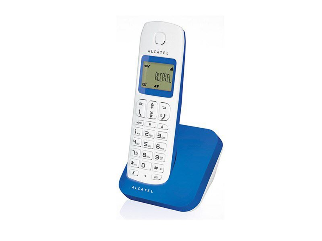 تصویر تلفن آلکاتل مدل E130   بیسیم، تکخط