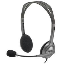 تصویر هدست باسیم لاجیتک مدل H111 | روی گوش