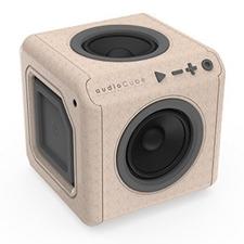 تصویر اسپیکر الوکاکوک مدل AudioCube ادیشن چوبی   قابل حمل