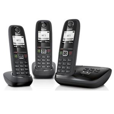 تصویر تلفن گیگاست مدل AS405A Trio | بیسیم، تکخط، منشیتلفنی