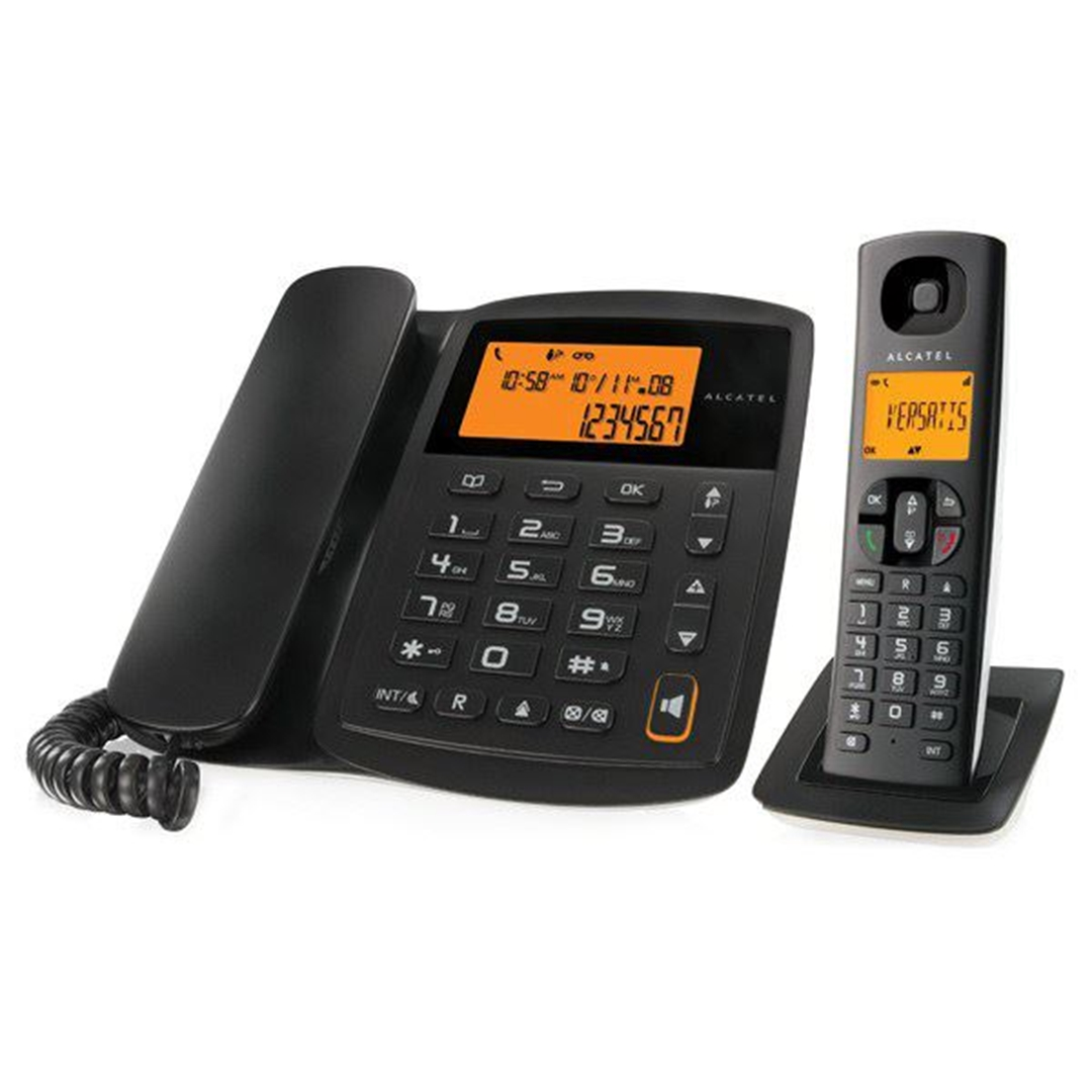 تصویر تلفن آلکاتل مدل Versatis E100 Combo   بیسیم، تکخط