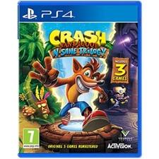 تصویر بازی Crash Bandicoot N. Sane Trilogy کراش   مخصوص کنسول پلی استیشن 4