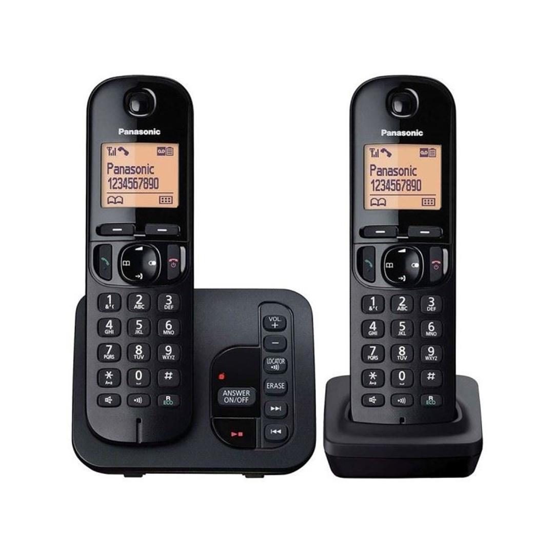 تصویر تلفن بیسیم پاناسونیک مدل KX-TGC222 | بیسیم، تکخط، منشیتلفنی