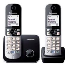 تصویر تلفن بی سیم پاناسونیک مدل KX-TG6812 | تکخط