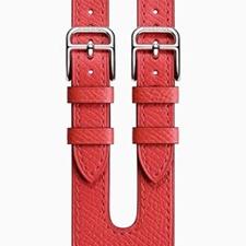 تصویر بند اپلواچ مدل هرمس دابل باکل Hermès Double Buckle | سایز 38 میلیمتر