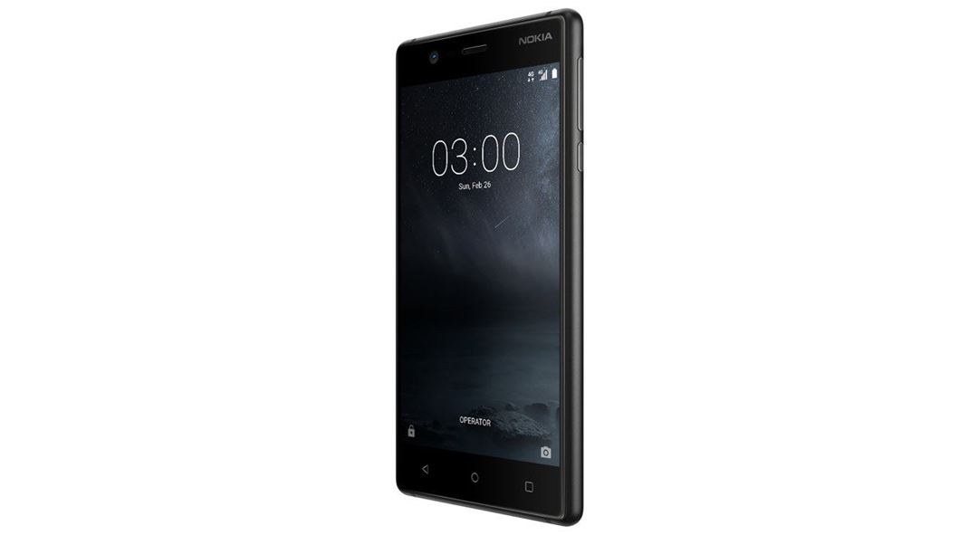 تصویر موبایل نوکیا مدل Nokia 3   ظرفیت 16 گیگابایت، دو سیمکارت