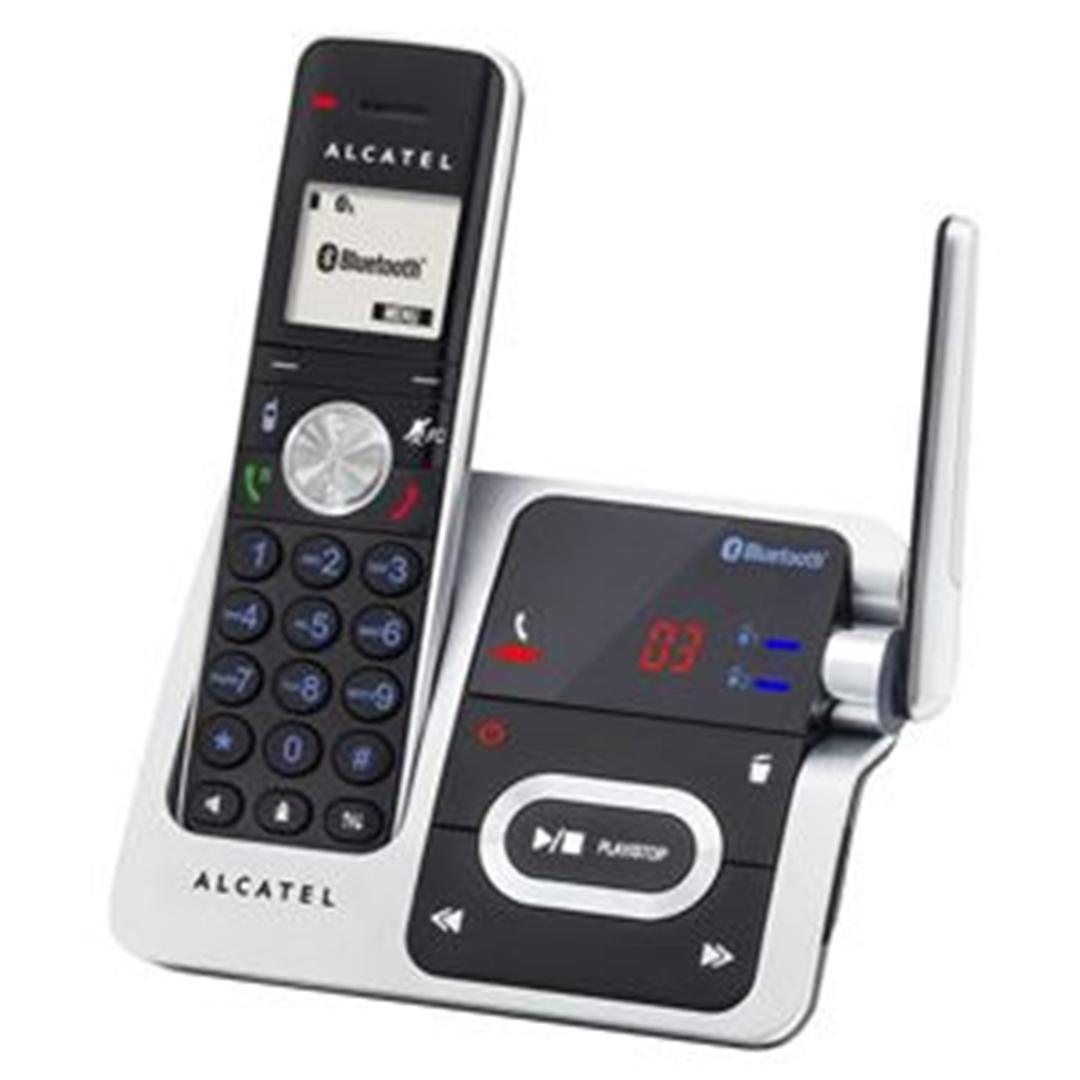 تصویر تلفن آلکاتل مدل XP1050 | بیسیم، تکخط، منشیتلفنی