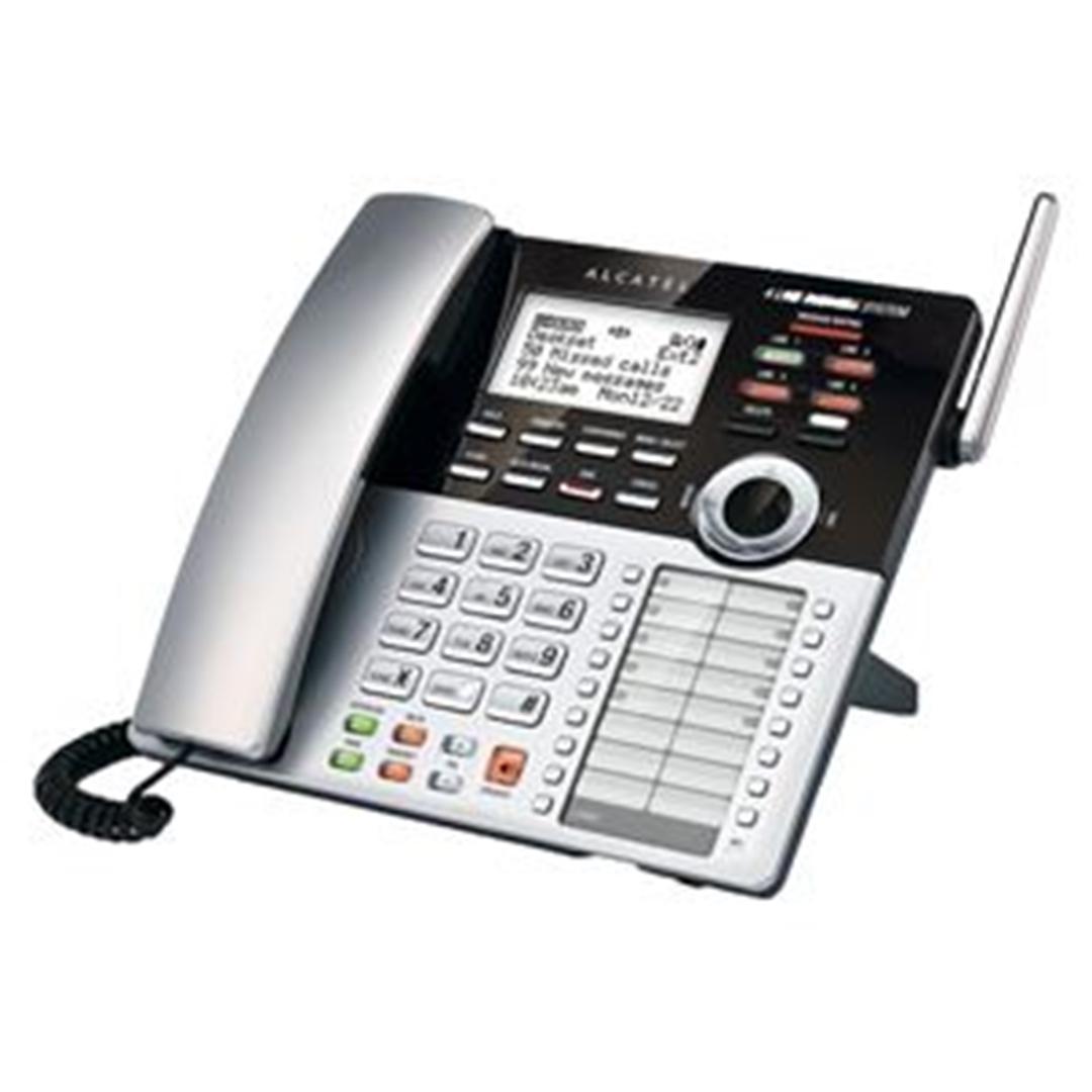 تصویر تلفن آلکاتل مدل XPS410   باسیم، چهارخط، منشیتلفنی