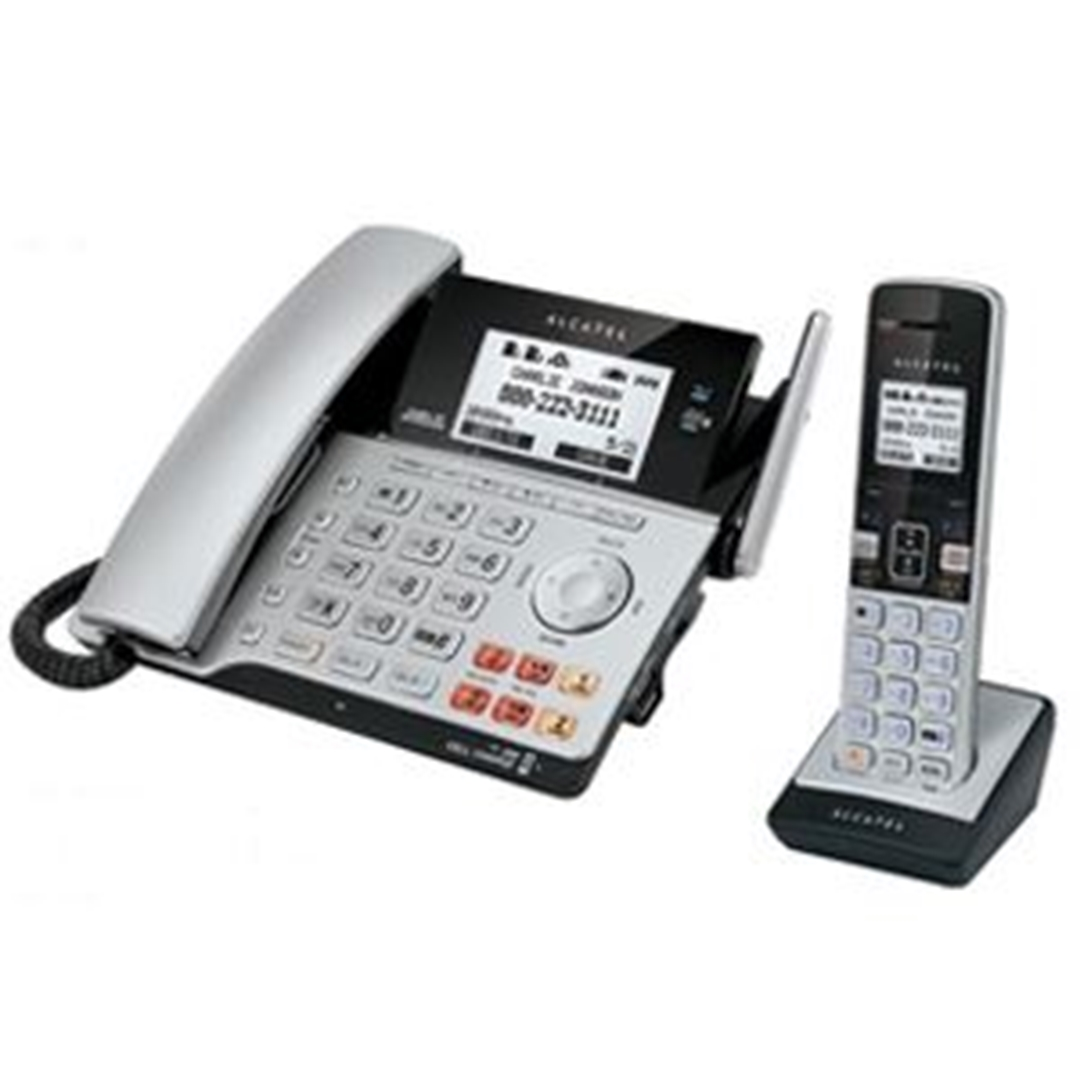 تصویر تلفن آلکاتل مدل XPS2120 Combo | باسیم، دوخط، منشیتلفنی