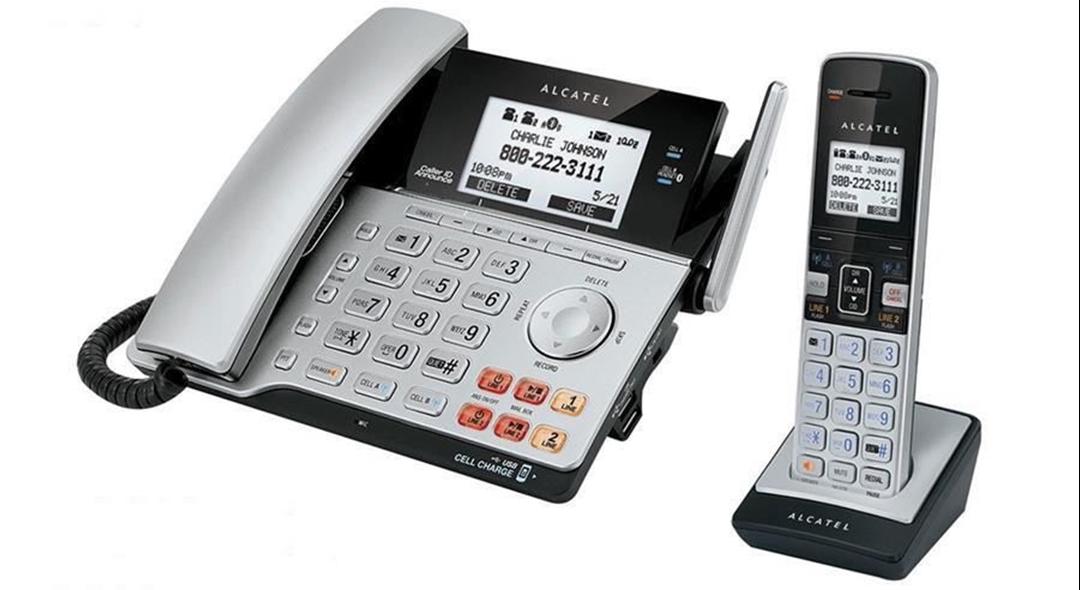 تصویر تلفن آلکاتل مدل XPS2120 Combo   باسیم، دوخط، منشیتلفنی
