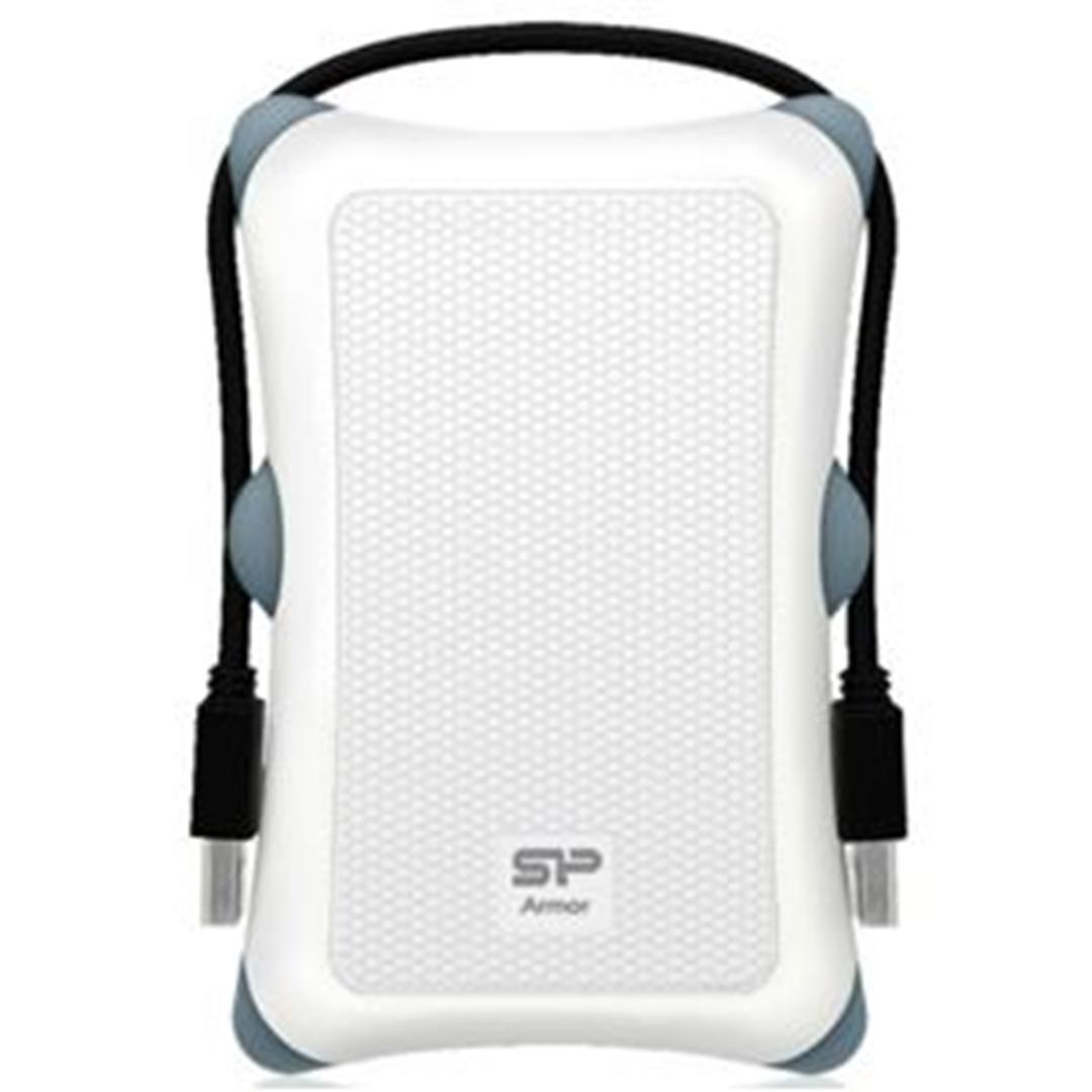 تصویر هارددیسک اکسترنال سیلیکونپاور مدل Armor A30 | ظرفیت دو ترابایت، پورت USB 3.0