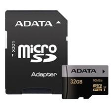 تصویر کارت حافظه microSDXC ایدیتا مدل XPG | ظرفیت 32 گیگابایت، کلاس 10، استاندارد UHS-I U3