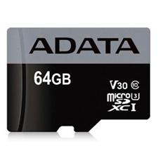 تصویر کارت حافظه microSDXC ایدیتا مدل XPG | ظرفیت 64 گیگابایت، کلاس 10، استاندارد UHS-I U3