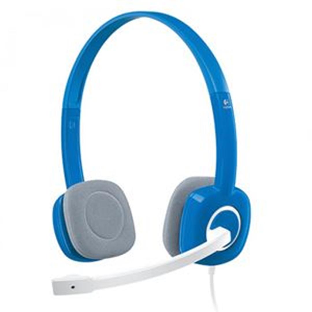 تصویر هدست باسیم لاجیتک مدل H150 | روی گوش