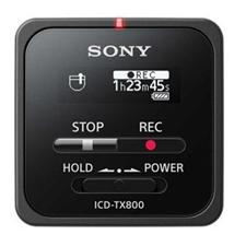 تصویر ضبط کننده صدا سونی مدل ICD-TX800 | دارای 16 گیگابایتحافظه