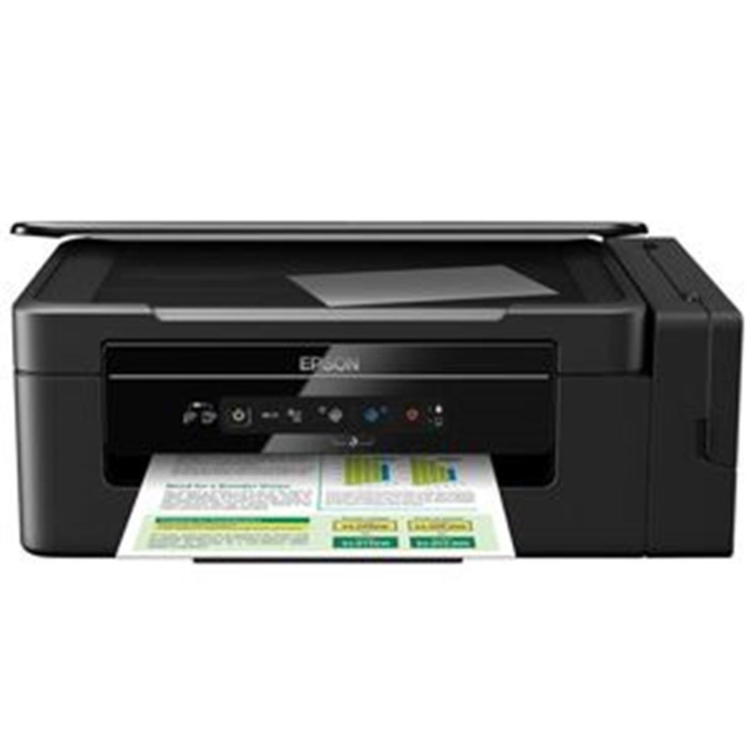 تصویر پرینتر اپسون سهکاره مدل L3060 Inkjet   رنگی
