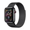 تصویر ساعتهوشمند اپل Apple Watch سری 4 GPS + Cellular | بدنه استیل مشکی، حلقه میلانی مشکی، 40 میلیمتر