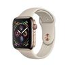 تصویر ساعتهوشمند اپل Apple Watch سری 4 GPS + Cellular   بدنه استیل طلایی، بند اسپورت، 40 میلیمتر