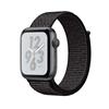 تصویر ساعتهوشمند اپل Apple Watch سری 4 Nike+ GPS + Cellular | بدنه آلومینیوم خاکستری، حلقه اسپورت مشکی، 40 میلیمتر