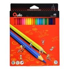 تصویر مداد رنگی 48 رنگ کوییلو | جعبه مقوایی