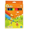 تصویر مداد رنگی 12 رنگ کوییلو مدل جامبو | جعبه مقوایی