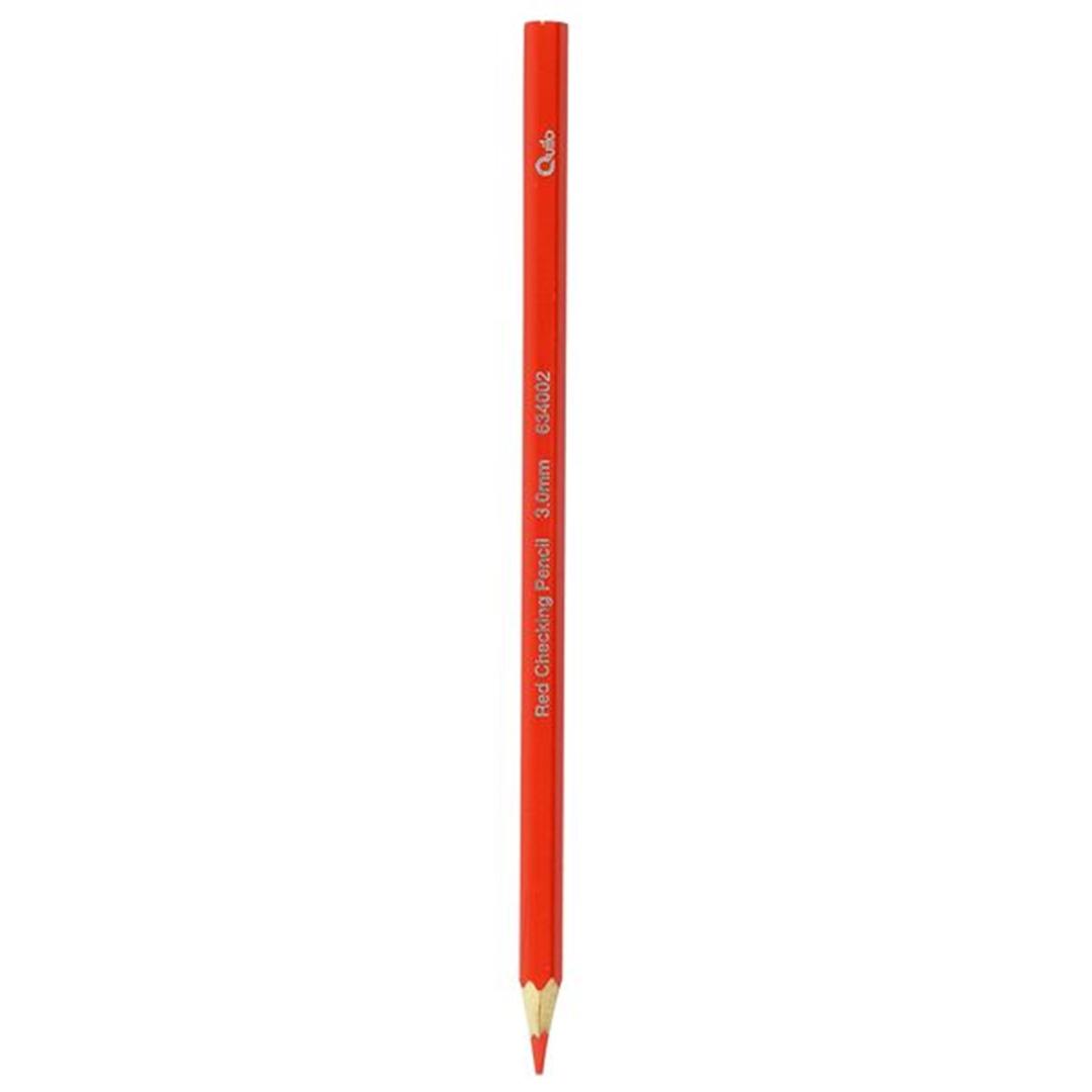 تصویر مداد قرمز کوییلو دوازده عددی مدل 634002