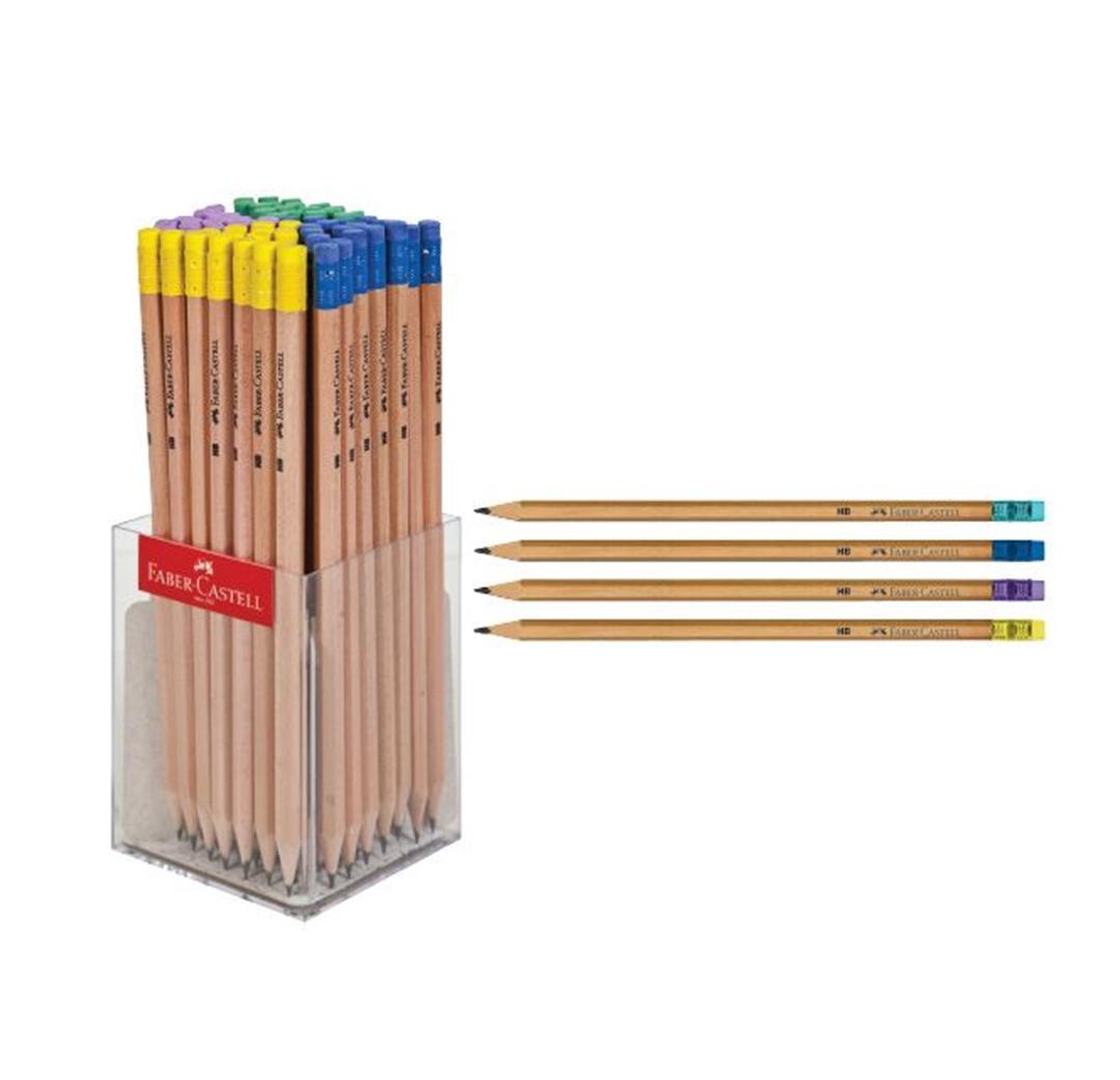 تصویر مداد فابرکاستل مدل رنگ چوب