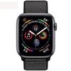 تصویر ساعتهوشمند اپل Apple Watch سری 4 GPS | بدنه آلومینیوم خاکستری، بند اسپورت مشکی، 40 میلیمتر