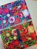 تصویر دفتر صد برگ لاین نوت وزیری طرح گل های کوهپایه