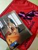 تصویر دفتر صد برگ لاین نوت وزیری طرح دختر و گربه